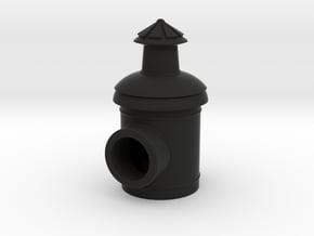 Signal Semaphore Lamp 1:19 scale in Black Natural Versatile Plastic