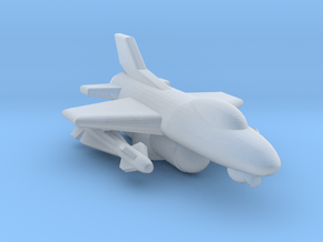 """285 Scale Federation F-16 """"Falcon"""" Fighter MGL in Smooth Fine Detail Plastic"""