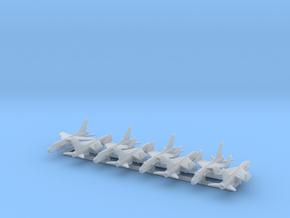 F-8E w/Gear x8 (FUD) in Smooth Fine Detail Plastic: 1:700