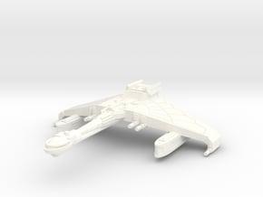 V-49 Saber Wing Frigate in White Processed Versatile Plastic