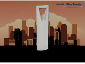 Kingdom Centre - Riyadh (1:4000) in White Natural Versatile Plastic