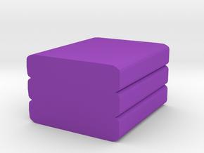 Game Piece, Cloth in Purple Processed Versatile Plastic