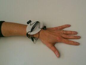 Functional Ornament || wire organizer in White Natural Versatile Plastic