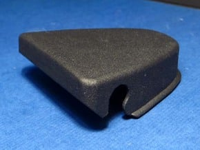 308 SEAT BELT TOP BOLT COVER in Black PA12