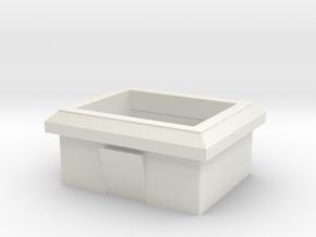 Leader LPS-152 hole Grommet in White Natural Versatile Plastic