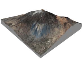 Pico del Teide Map, 1:30,000 in Glossy Full Color Sandstone