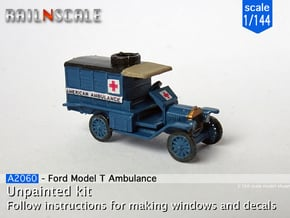 Ford Model T Ambulance (1/144) in Smoothest Fine Detail Plastic