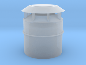 US Vent 20inch bucket 1-72scale in Smoothest Fine Detail Plastic