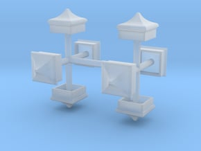 Signal Finial (Square Cap) 1:48 scale in Smoothest Fine Detail Plastic