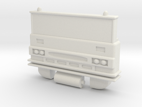G1 Inferno/Grapple Chest for POTP Inferno in White Natural Versatile Plastic