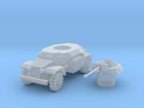 sdkfz 221 scale 1/100 in Smooth Fine Detail Plastic