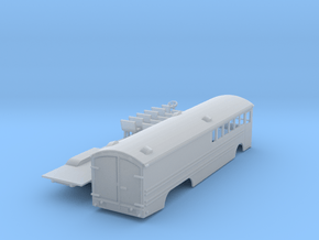 Great Northern Bus Z scale 2 in Smooth Fine Detail Plastic