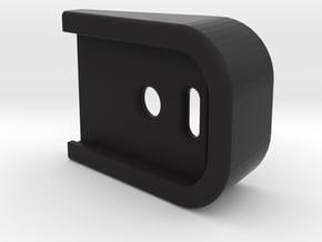 G-series GBB magazine base extension (simple) in Black Natural Versatile Plastic