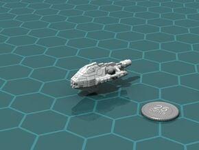 Galimek Battleship in White Natural Versatile Plastic