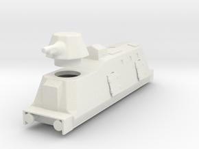 Panzerzüge artileriewagon armored train ho in White Natural Versatile Plastic