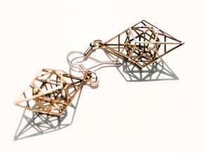 Quntessence (Symmetry) in Natural Bronze