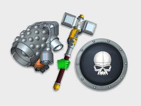 Smash Captain Kit - Basic (PM) in Smooth Fine Detail Plastic