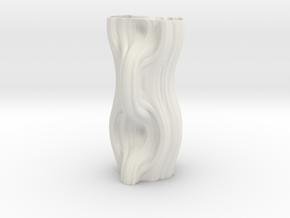 Vase 7144m in White Natural Versatile Plastic