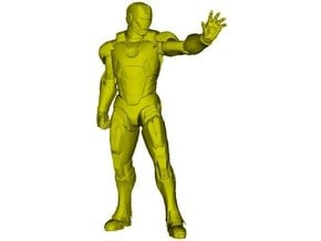 1/72 scale Iron Man superhero figure in Smoothest Fine Detail Plastic