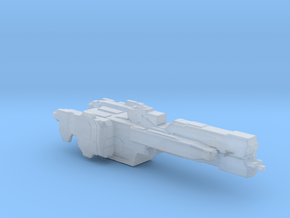 UNSC Charon Frigate 3cm version in Smooth Fine Detail Plastic