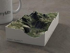Yosemite Valley, CA, USA, 1:75000 Explorer in Full Color Sandstone