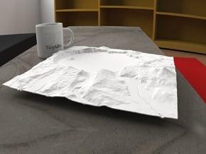 12'' Crater Lake, Oregon, USA in White Natural Versatile Plastic