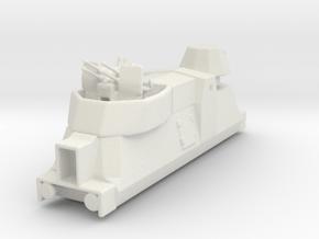 Panzerzüge flakewagon armored train ho in White Natural Versatile Plastic