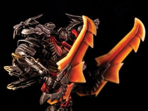 Transformers Leader Grimlock Sword Set in White Natural Versatile Plastic