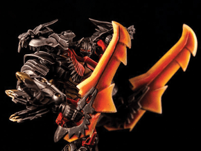 Transformers AOE LDR Grimlock Replacement Head in Black Natural Versatile Plastic
