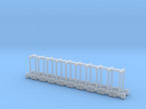 1/87 Az/U/StFu/rund/2.8 in Smoothest Fine Detail Plastic