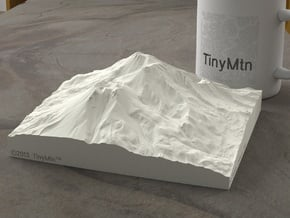 6'' Mt. Shasta, California, USA, Sandstone in Natural Sandstone