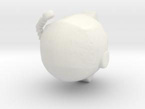 SpaceHelmetv2 in White Natural Versatile Plastic