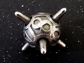 Sputnik d8 in Polished Bronzed Silver Steel