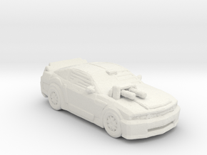 Death Race Frankenstien Monster 285 scale in White Natural Versatile Plastic