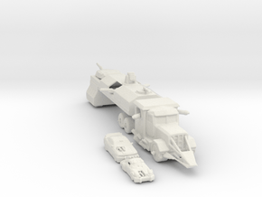 Death Race cars and Truck 285 scale in White Natural Versatile Plastic