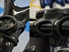 Trek Speed Concept Aero Bar Garmin and GoPro Mount in Black Natural Versatile Plastic