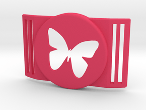 Freestyle Libre Shield - Libre Guard BUTTERFLY in Pink Processed Versatile Plastic