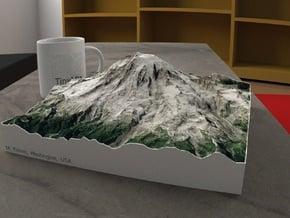 Mt. Rainier, Washington, USA, 1:50000 Explorer in Full Color Sandstone