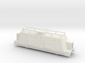 Panzerzüge kommandowagen armored train 1/144 in White Natural Versatile Plastic