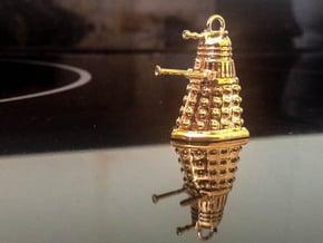 Dalek 10 in Polished Brass
