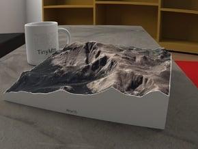 Pikes Peak, Colorado, USA, 1:25000 in Full Color Sandstone