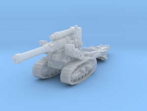 B-4 howitzer 1/144 in Smooth Fine Detail Plastic
