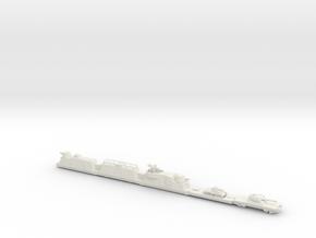 panzerzug 64 1/144 armoured train  in White Natural Versatile Plastic