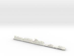 panzerzug 64 1/160 armoured train  in White Natural Versatile Plastic