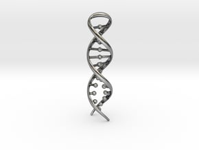 DNA RECONNECTION in Antique Silver