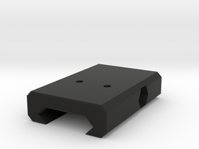 Airsoft 20mm rail mount adapter for RMR / Pistol s in Black Natural Versatile Plastic