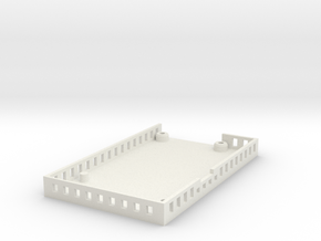 ElModCaseV2 in White Natural Versatile Plastic