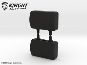 CT10015 C10 Headrests in Black Natural Versatile Plastic