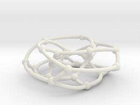 F26A graph on torus in White Natural Versatile Plastic