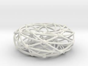 Shrikhande graph on torus in White Natural Versatile Plastic